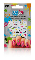 Great Graffiti Nail Stickers
