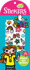 Hippie Girl Stickers