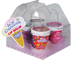 Ice Cream Flavored Lip Balm Pack