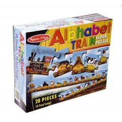 28 Piece Alphabet Train Floor Puzzle