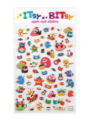 Itsy Bitsy Stickers- Animal Restaurant