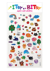 Itsy Bitsy Stickers- Animal Town