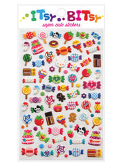 Itsy Bitsy Stickers- Candy Time