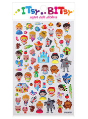 Itsy Bitsy Stickers- Fairy Tales