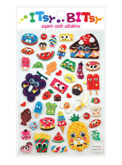 Itsy Bitsy Stickers- Googly Eyed Food