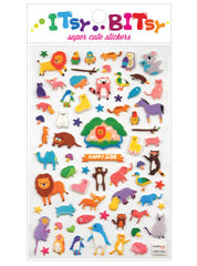 Itsy Bitsy Stickers- Happy Zoo