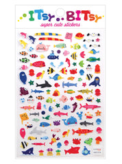 Itsy Bitsy Stickers- A Little Sea Life