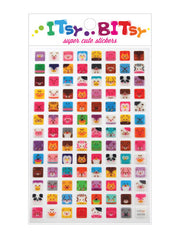 Itsy Bitsy Stickers- Square Animals