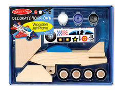 Melissa & Doug Decorate Your Own Wooden Jet Plane