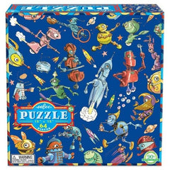 64 Piece Lots of Robots Puzzle
