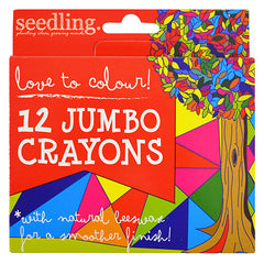 Seedling Love to Color! Jumbo Crayons