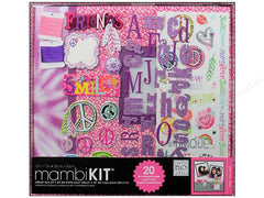 "MAMBI Friends of a Feather 12""x12"" Scrapbook Kit"