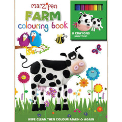 Marzipan Farm Wipe-Clean Coloring Book