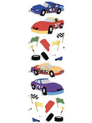 Mrs. Grossman's Race Car Sticker Sheets