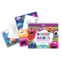 Monster Madness Activity Pads