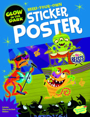Monster Rock Show Sticker Book