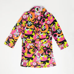Plush Fleece Owl Cuddle Up Robe