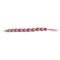 Tattly Tattoos- Pink Friendship Bracelet Tattoo