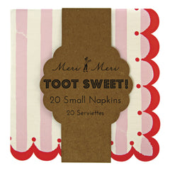 Paper Party Napkins- Toot Sweet Pink