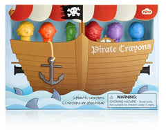 Pirate Character Crayons