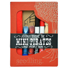 Seedling Mini Pirates Peg People