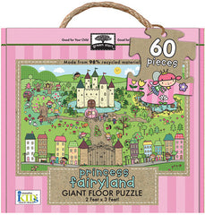 60 Piece Princess Fairyland Floor Puzzle