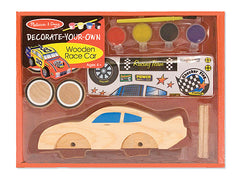 Melissa & Doug Decorate Your Own Wooden Race Car