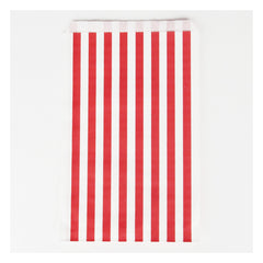 Favor Bags- Red Stripe