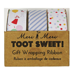 Toot Sweet Gift Wrap Ribbons