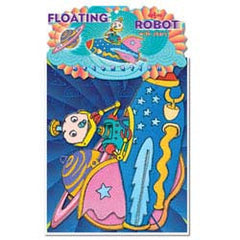 eeBoo Robot with Floating Stars Mobile