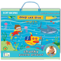 Deep Sea Dive Puzzle Playset