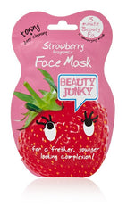 Beauty Junky Strawberry Gel Face Mask