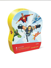 72 Piece Superheroes Learn 'N Play Puzzle