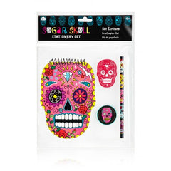 Sugar Skull Stationary Set