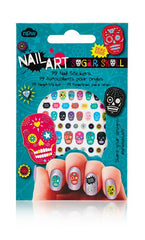 Sugar Skull Nail Stickers