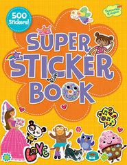 Orange Super Sticker Book