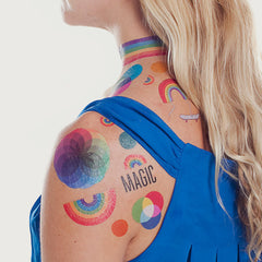 Tattly Tattoos- Rainbow Set