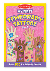 Melissa & Doug My First Temporary Tattoos