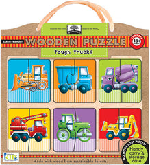 Tough Trucks Puzzle Set