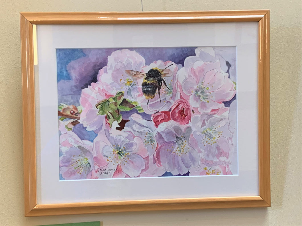 Bumble Bee Painting,
