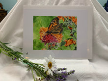 "Load image into Gallery viewer, Monarch Butterfly Print, ""The Monarch"""