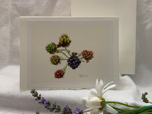 "Load image into Gallery viewer, Blackberries Greeting Card, ""Transitions"""
