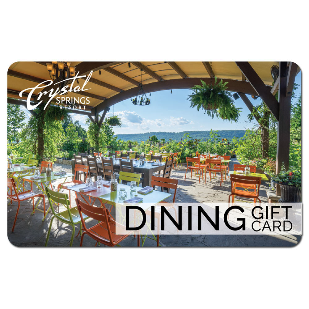 Dining Gift Card - Version 3