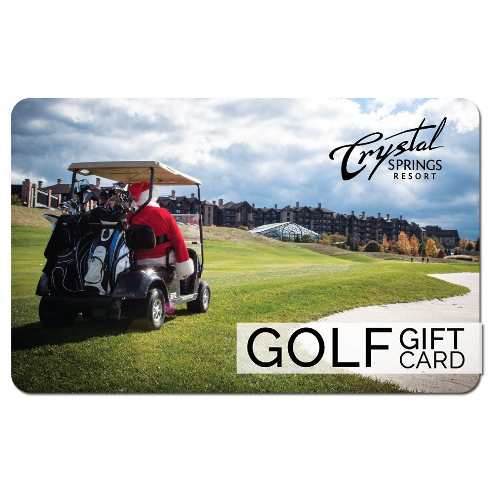 Golf Gift Card - Version 2