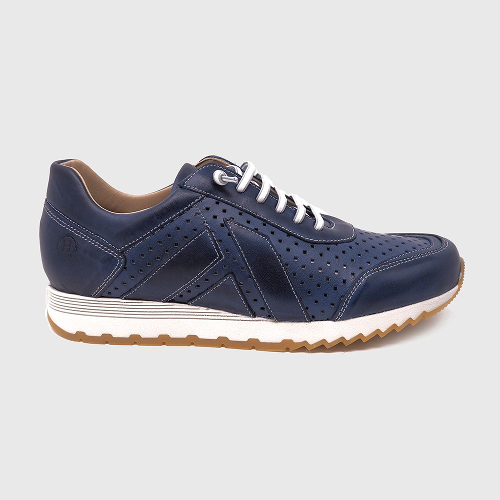 Blake sneakers in chopped blue leather