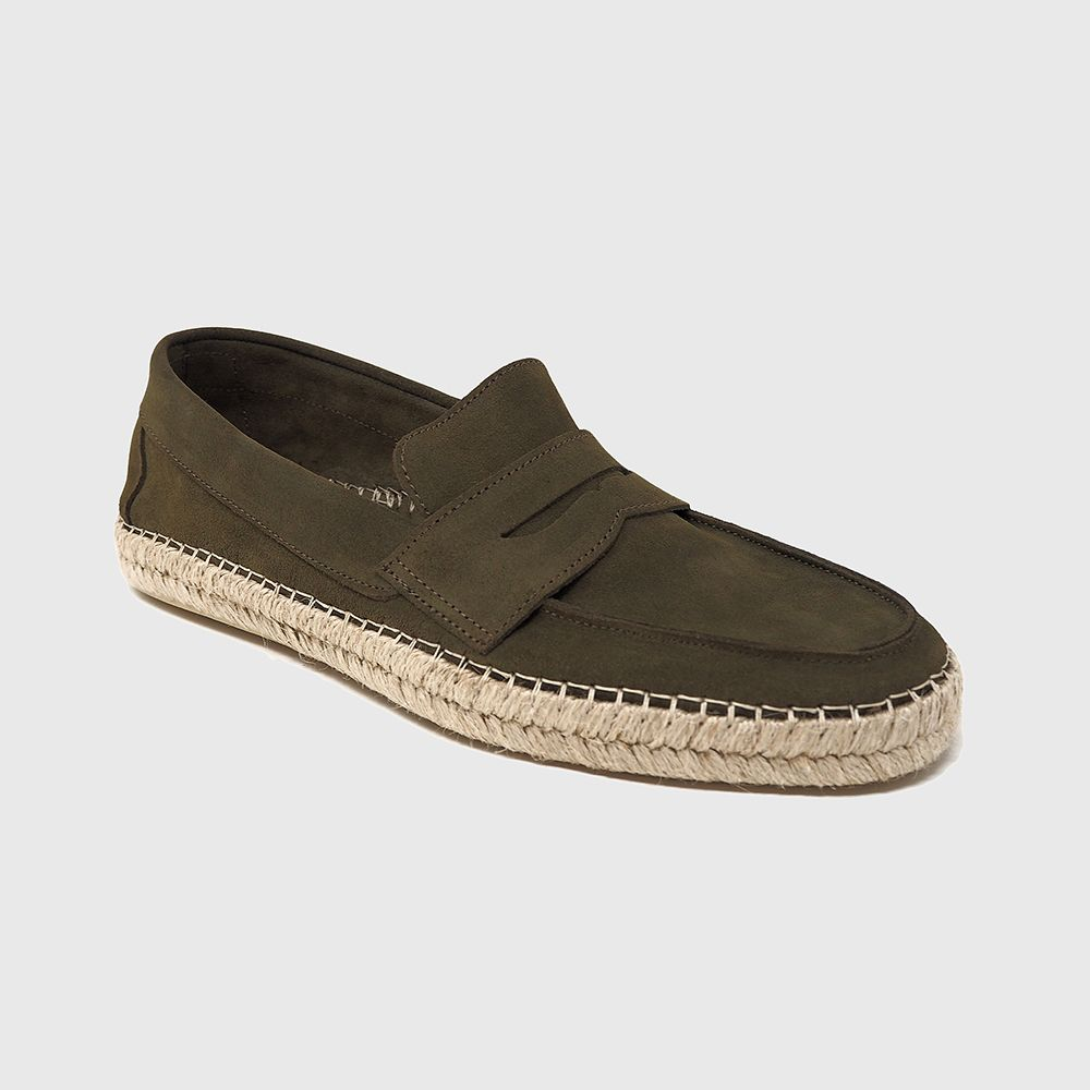 Load image into Gallery viewer, Daniel loafers in khaki leather