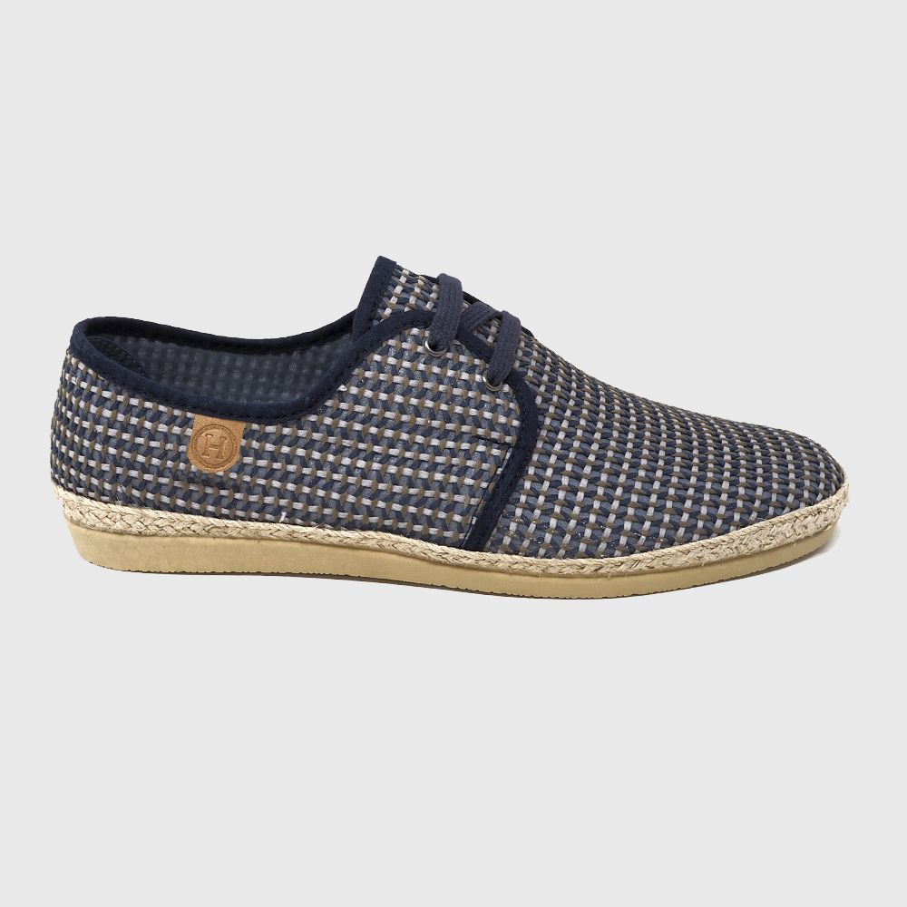 Grayson Textil lace shoe color blue