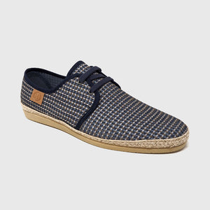 Load image into Gallery viewer, Grayson Textil lace shoe color blue