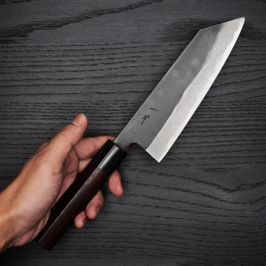 Hitohira MS Kurouchi White #2 Bunka 170mm Wood Handle