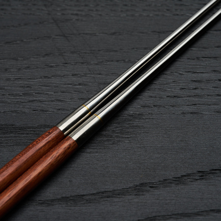 Hitohira Wood Moribashi Chopstick 150mm Rounded